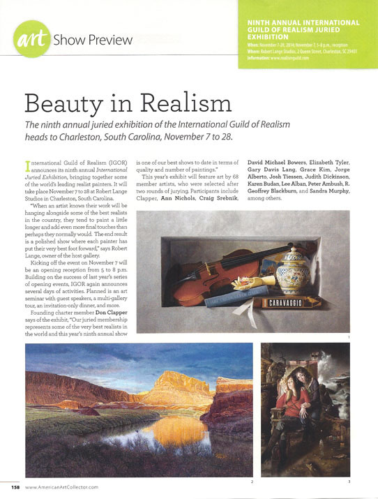 R. Geoffrey Blackburn American Art Collector Nov-2014