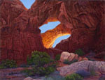 R. Geoffrey Blackburn Arches Park paintings 1