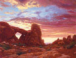 R. Geoffrey Blackburn Arches Park paintings 0