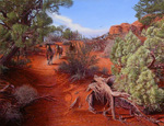R. Geoffrey Blackburn Arches Park paintings 3