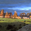 "R. Geoffrey Blackburn""Desert Spires"" oil painting index"