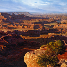 "R. Geoffrey Blackburn""Red Canyons"" oil painting index"
