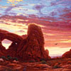 "R. Geoffrey Blackburn""Red Dawn"" oil painting index"