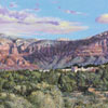 "R. Geoffrey Blackburn""Sedona Burbs"" oil painting index"