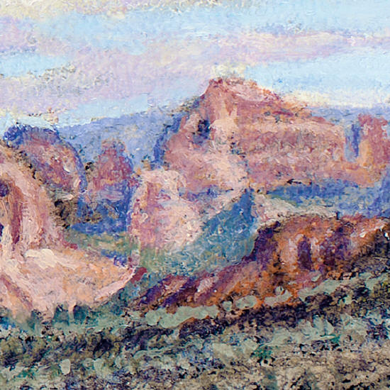 R. Geoffrey Blackburn-Sedona Morning  detail-1