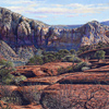 R. Geoffrey Blackburn Sedona Morning oil painting index