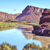 "R. Geoffrey Blackburn""Soaring the Colorado"" oil painting index"