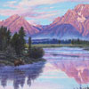 "R. Geoffrey Blackburn""Teton Dawn"" oil painting index"