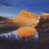 "R. Geoffrey Blackburn""Twilight on the Colorado"" oil painting index"
