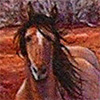 R. Geoffrey Blackburn Walking Wild oil painting detail link